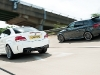 Audi RS3 vs BMW 1 Series M Coupe