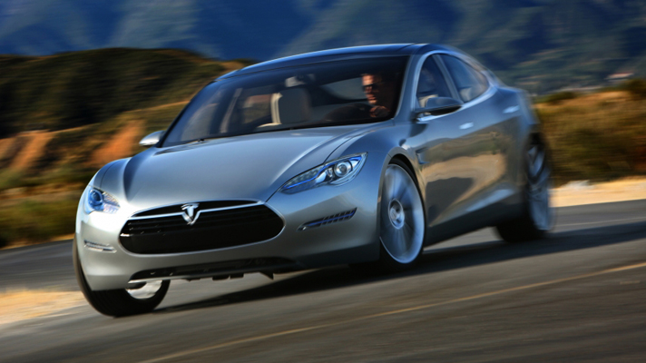 top gear tesla model s