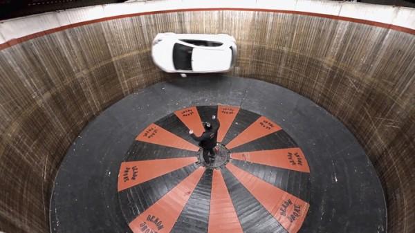 Mazda on wall of death