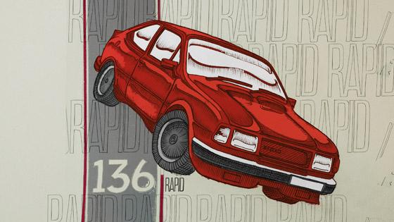 Škoda Rapid 136