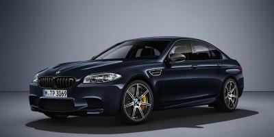 nová BMW M5 v edici Competition má téměř 600 koní