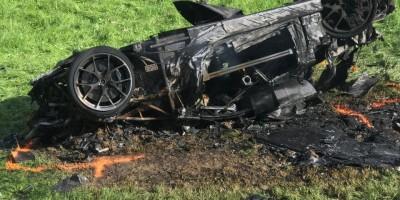 Richard Hammond byl převezen do nemocnice po hrozivé havárii ve Švýcarsku. Doslova se mu povedlo oklamat smrt