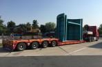 Nadrozměrná přeprava vyžaduje dokonalou logistiku