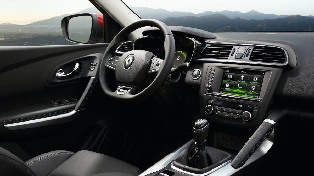 Interiér Renault Kadjar