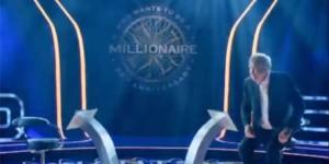 """Jeremy jako moderátor TW show """"Chcete být milionářem"""""""