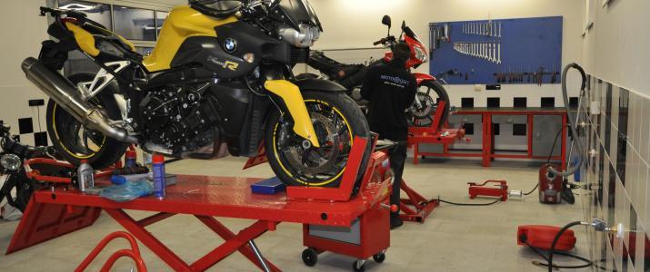 Motogart se postará i o váš motocykl