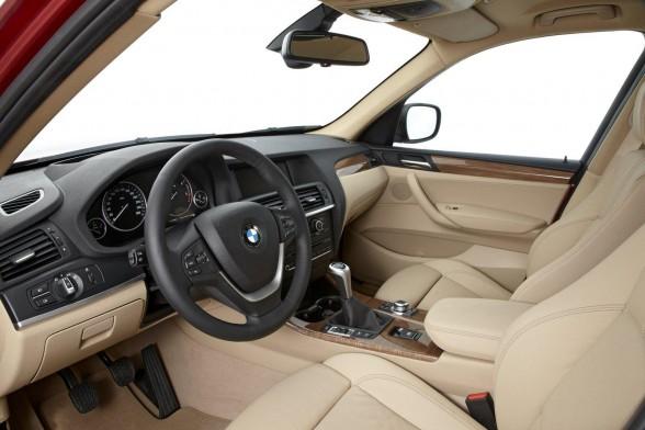 Kokpit nového BMW X3
